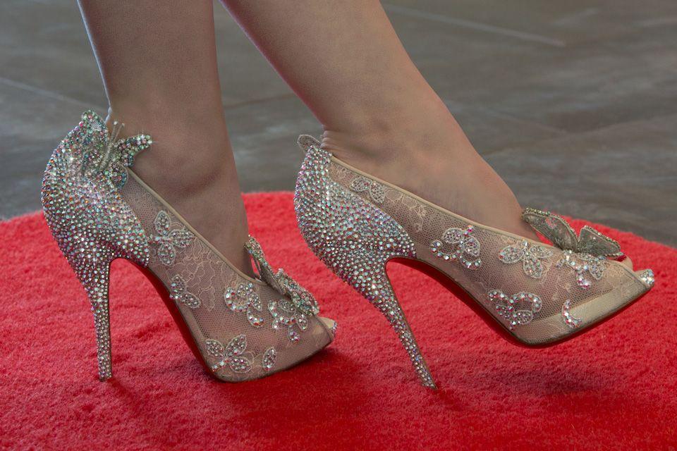 Louboutin Cinderella Schuhe Preis