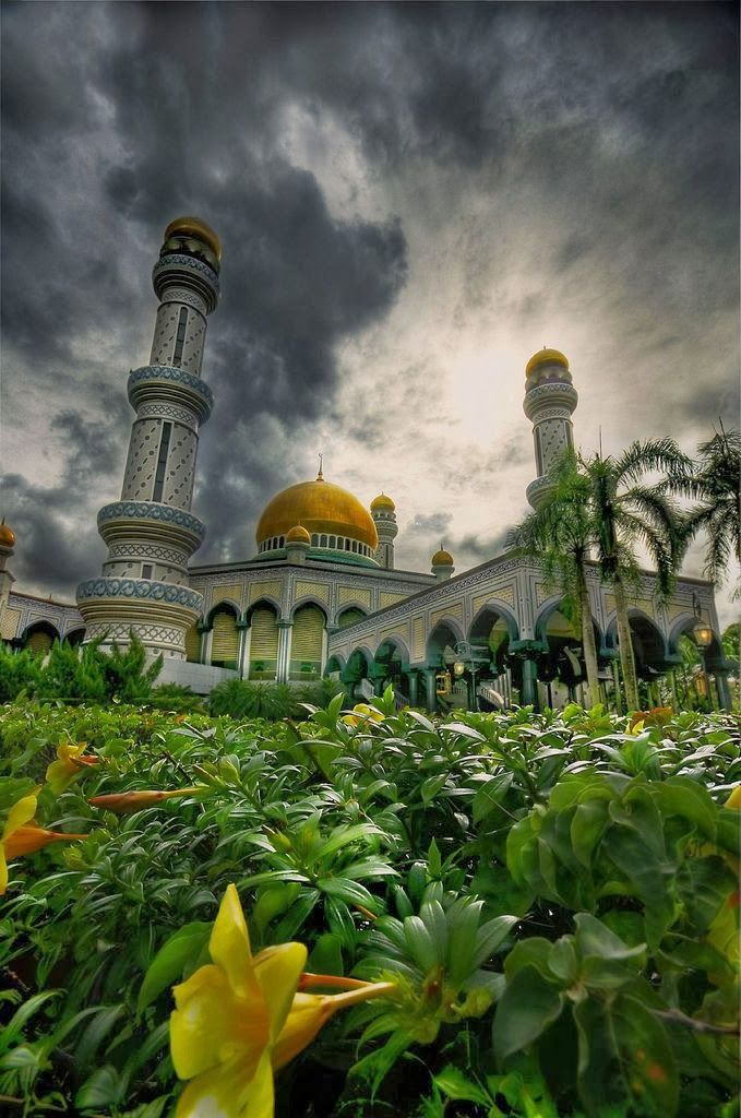 Jame Asr Hassanil Bolkiah Mosque, Brunei