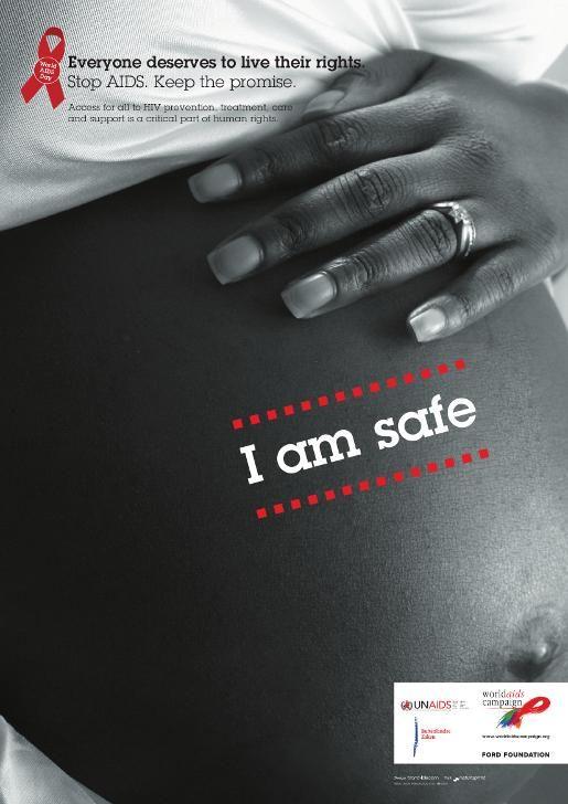 World Aids Campaign Social Ads