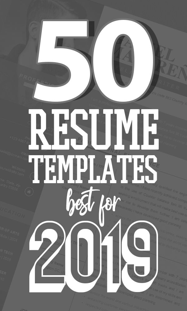 Resume Templates   Best for 2019 - Best free resume templates, Resume templates, Cv resume template, Best resume template, Resume template free, Cv template free - Kickstart your New Year 2019 with new goals and achievements  So don't look back and update your resume that can make a lasting impression when applying for