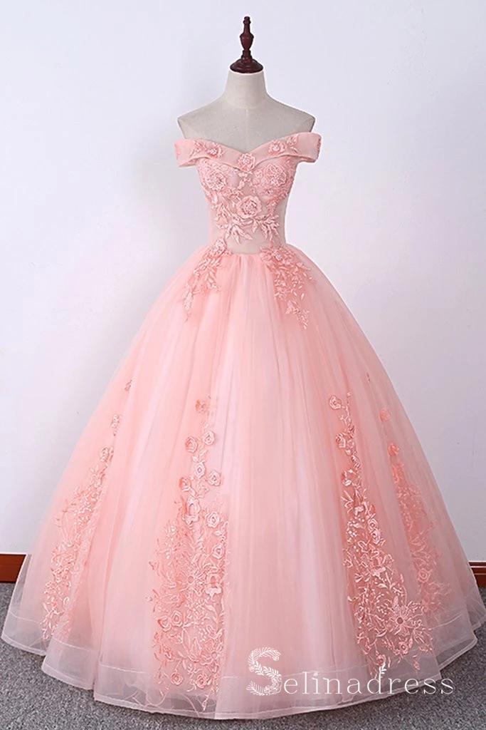 50++ Pink long dress information