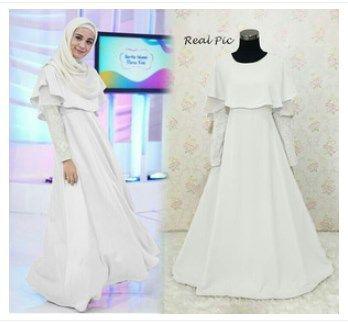 Baju Gamis Putih Modern Baju Gamis Putih Modern Pinterest