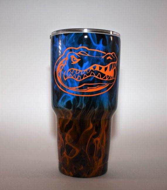 Florida Gators Yeti Optional Hydrodipped By ShowtimeGraphixFL Florida Gators Football Florida