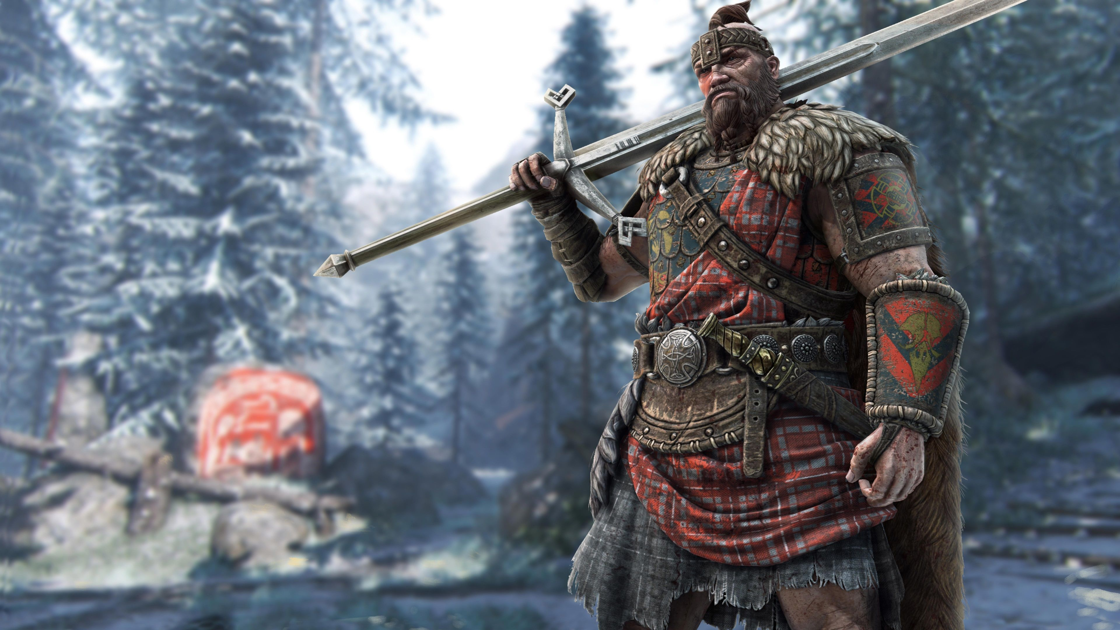 3840x2160 For Honor 4k High Resolution Wallpaper Widescreen For Honor Viking Viking Character Highlander