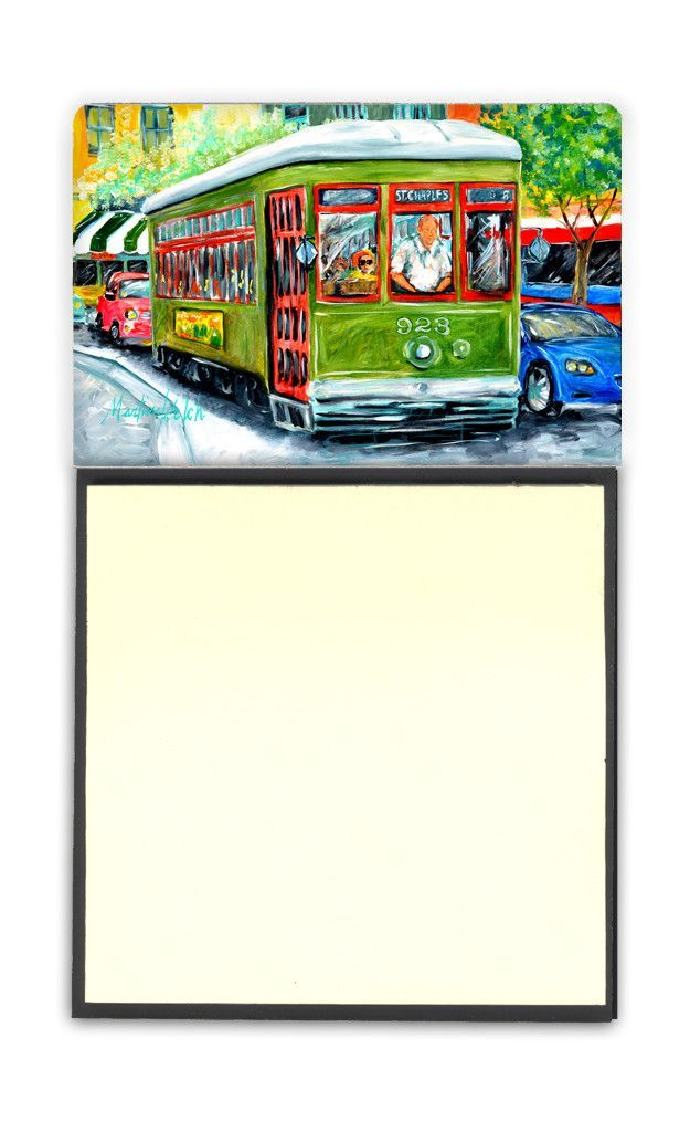 Street Car Refiillable Sticky Note Holder or Postit Note Dispenser MW1152SN