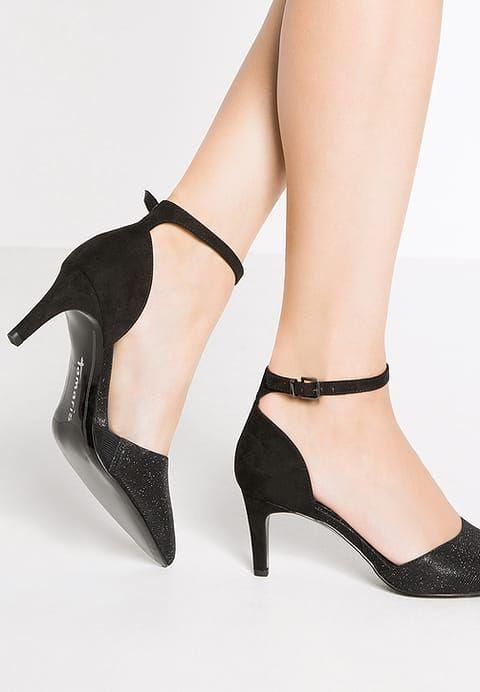 Tamaris Czolenka Black Glam Za 169 Zl 12 03 17 Zamow Bezplatnie Na Zalando Pl Black Pumps Pumps Kitten Heels