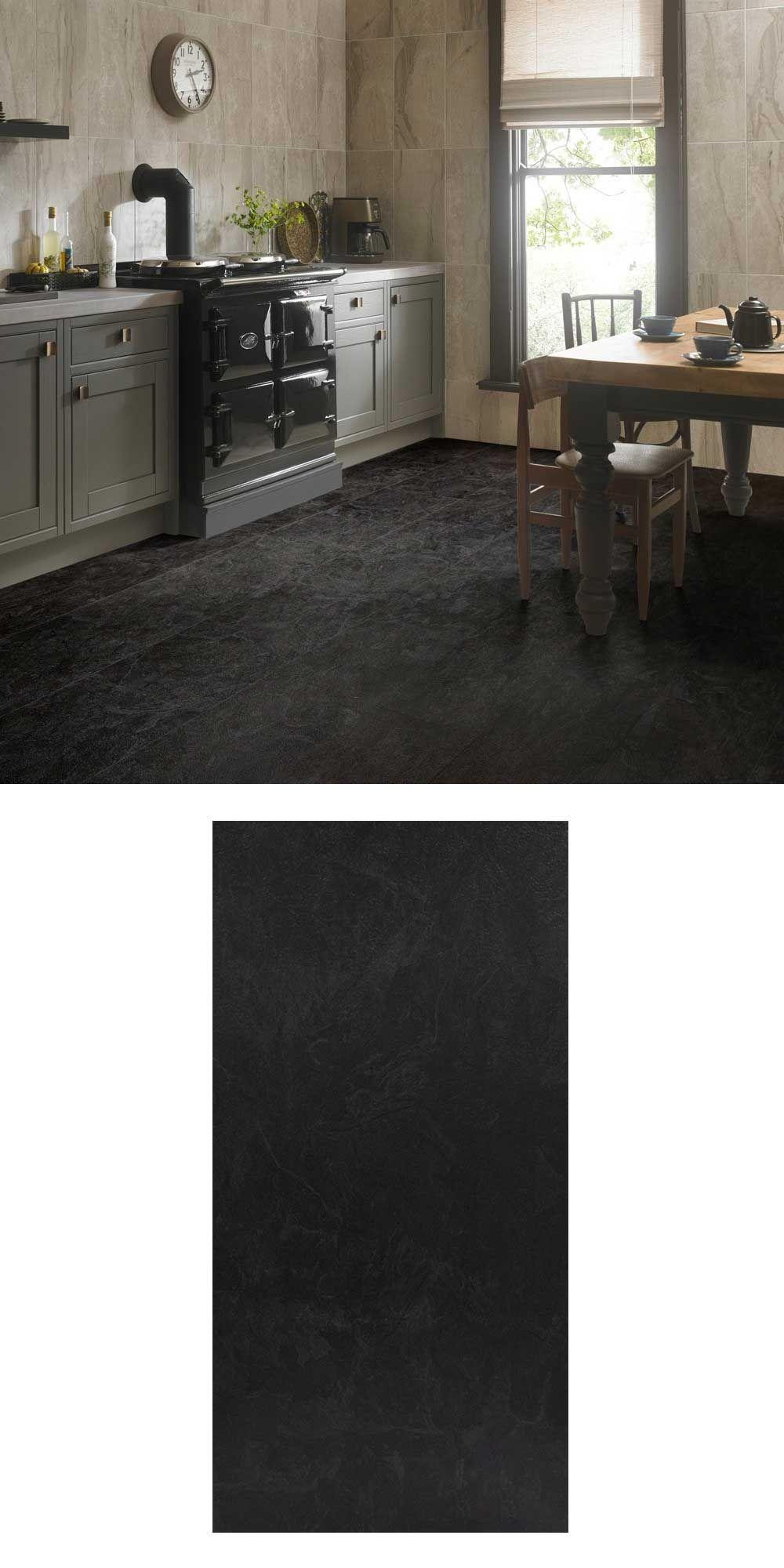 Arcadia Midnight Luxury Vinyl Tiles Luxury vinyl tile