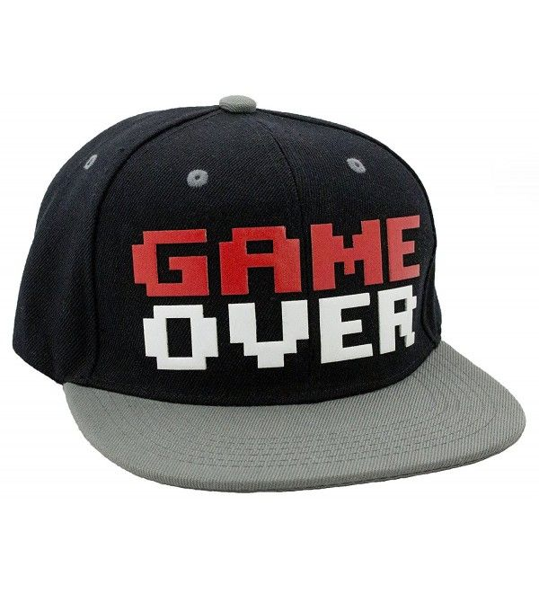 b1338632 Game Over Snapback Baseball Hat CX1281OW9QL in 2019 | Women's Hats & Caps &  Fashion Women | Baseball hats, Hats, Hats for men