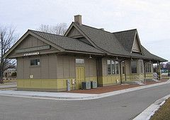 Wausau Wi Cmstp P Train Station Train Station Railroad