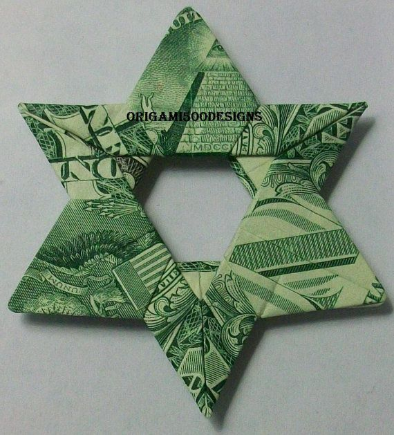 A Beautiful Handcrafted Money Origami Star Of By Origami500designs