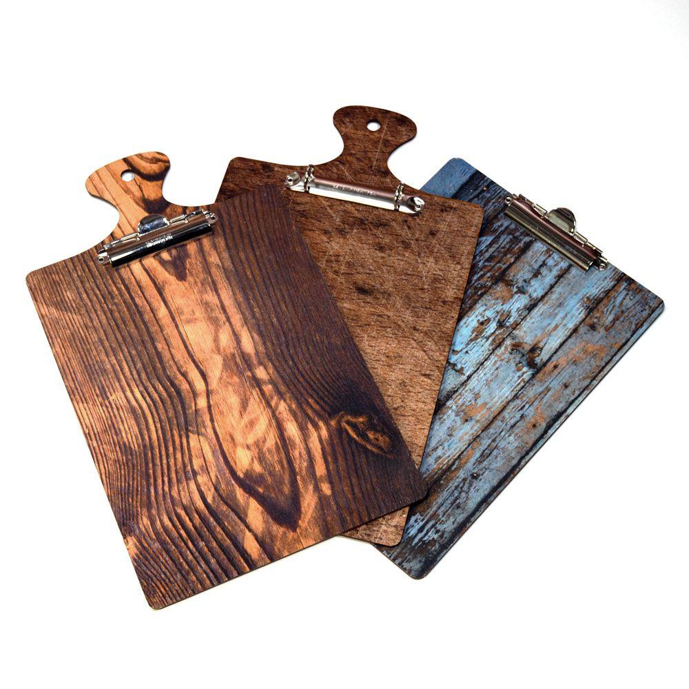 Die Cut Printed Wooden Menu Boards DECOR DESIGN