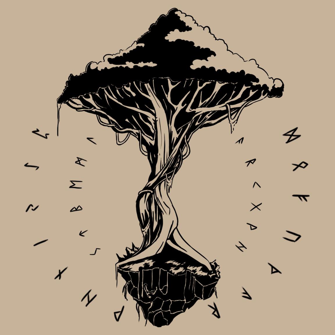 Yggdrasil By Fuindagnir On Deviantart Yggdrasil Tattoo Yggdrasil Tree Yggdrasil