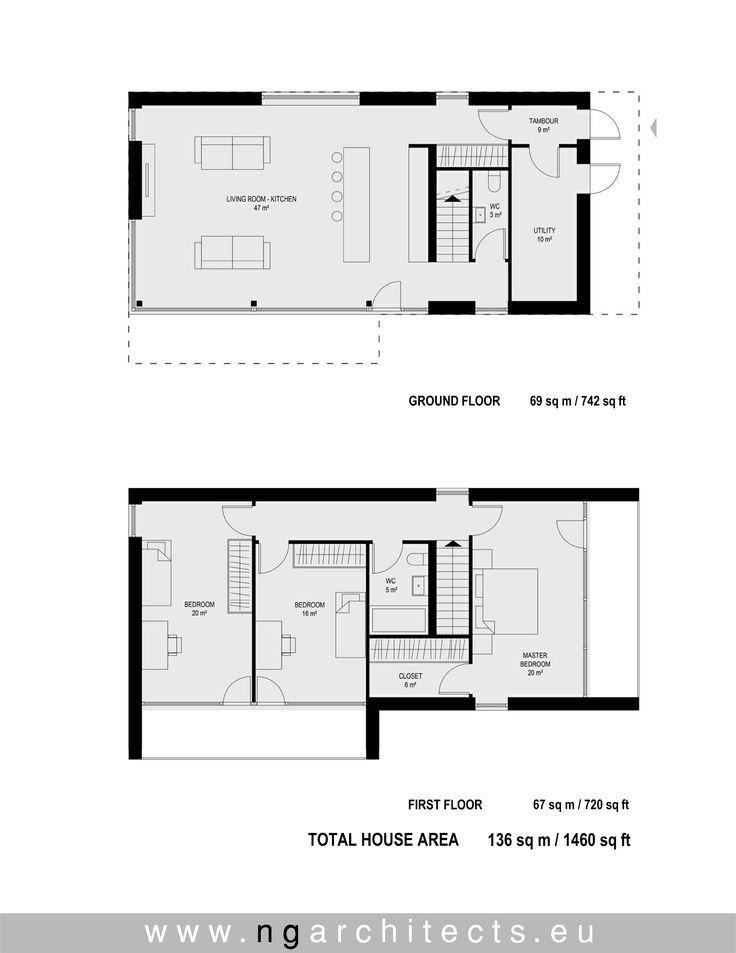 19 Best Of Modern House Floor Plans Check More At Http Www House Roof Site Info Modern House Floor Plans Haus Grundriss Haus Architektur Architektur Haus