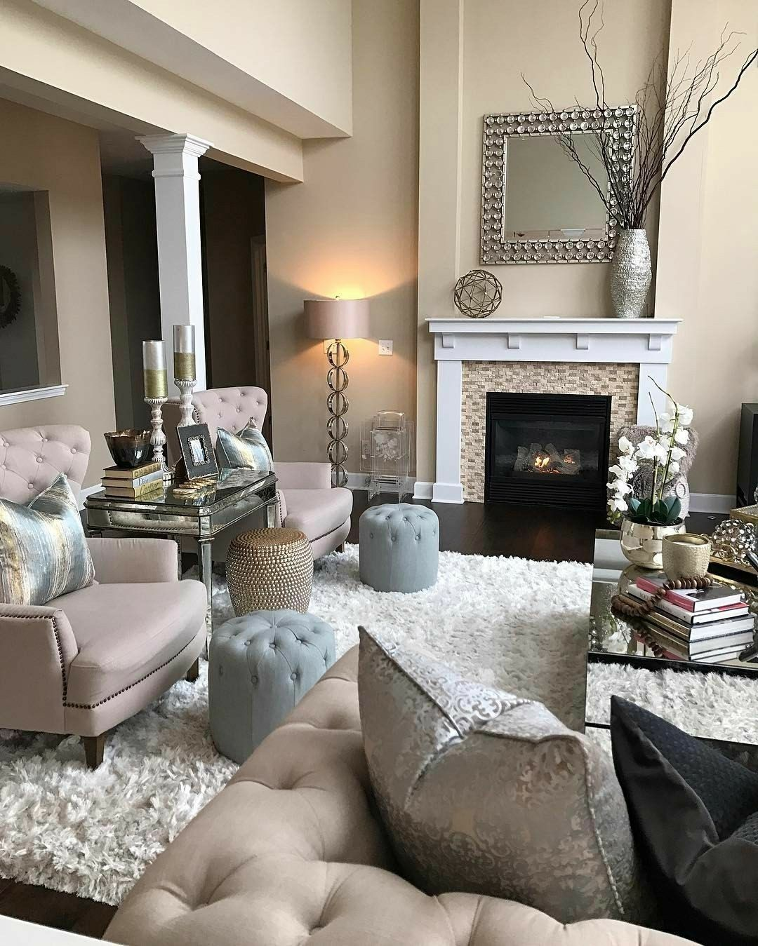 Pinterest: ohhyazmine | Beige living rooms, Living room ...