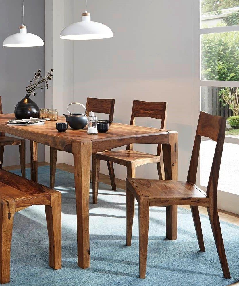 Esstisch Sheesham 120x85x77 Braun Lackiert Ancona 0100 Esstisch Esstisch Modern Esstisch Holz