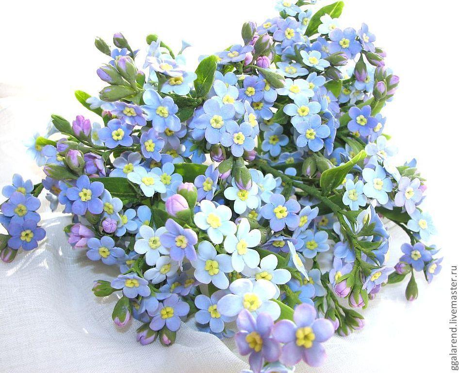 Букет из незабудки цветочный магазин, орле цветы