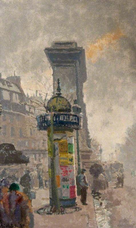 Walter Sickert - La Porte Saint-Denis