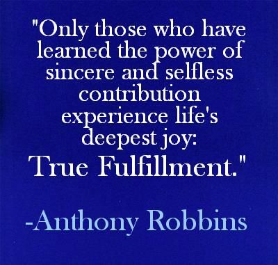 Child Care Council On Twitter Tony Robbins Quotes Tony Robbins Selfless