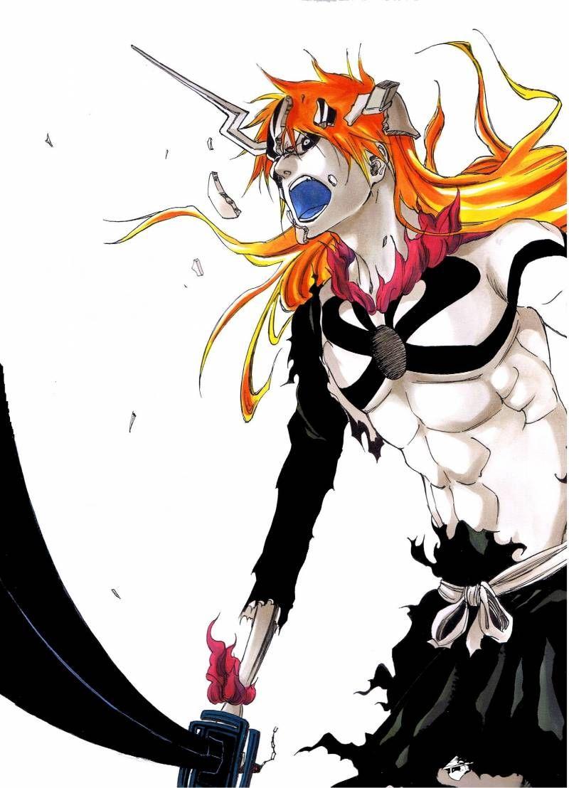 Ichigo Fight Against Ulquiorra With Images Bleach Anime