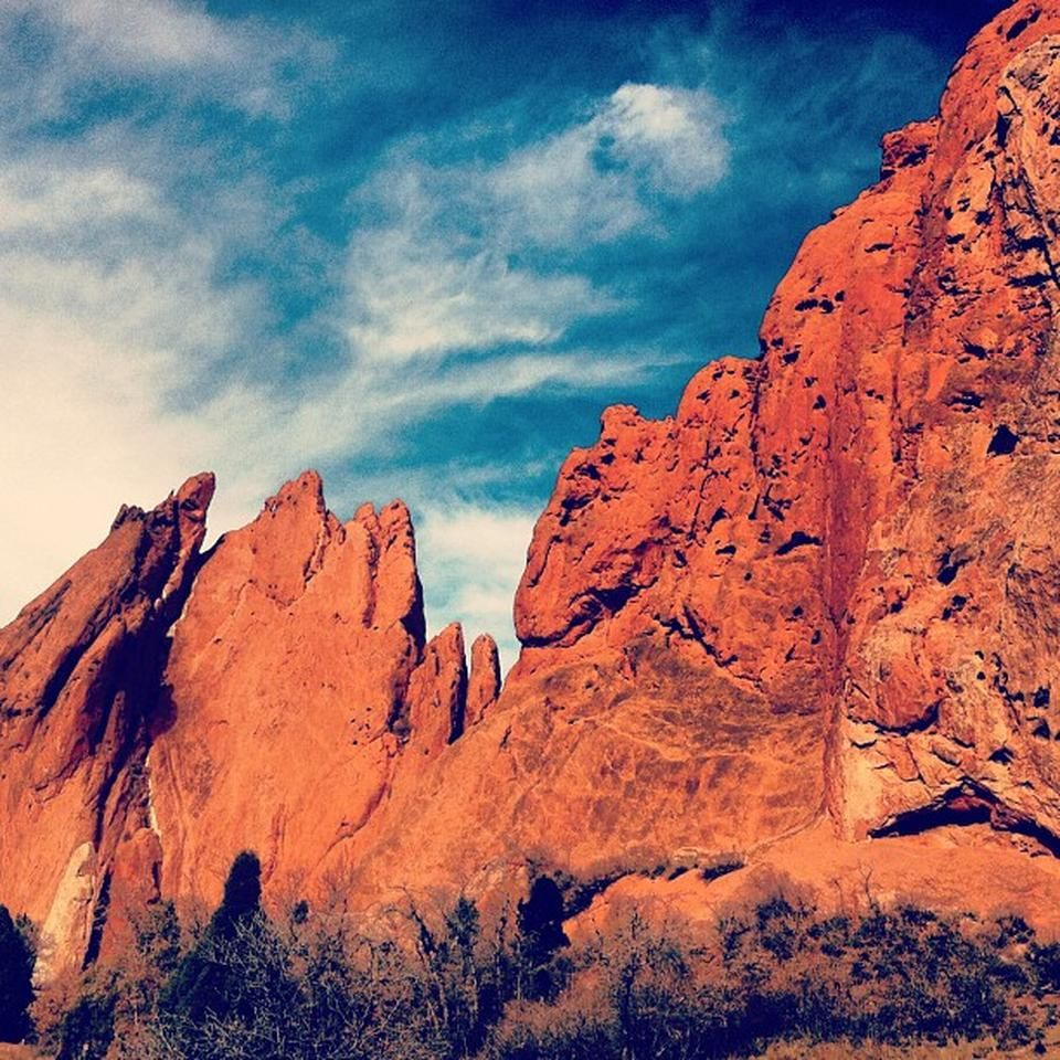 Garden Of The Gods Colorado Springs Cothe Garden Of The Gods Park Is Popular For Hiking