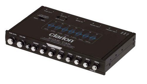 Clarion EQS746 1/2 DIN Graphic Equalizer with Built-in Crossover Clarion  http://www.amazon.com/dp/B000EZV3T8/ref=cm_sw_r…   Clarion, Crossover cars,  Car electronicsPinterest