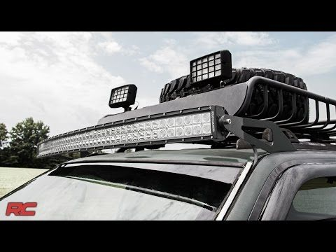 Though It May Look Unassuming From The Factory The Jeep Zj Can Be Transformed From A Humble Grocery Getter To Curved Led Light Bar Bar Lighting Led Light Bars