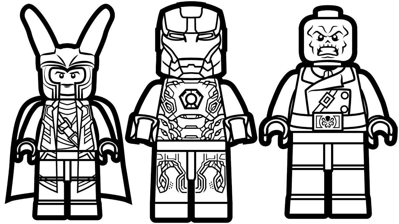 16 Lego Iron Man Coloring Pages To Print Doa Belajar