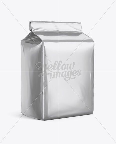 Download Metallic Paper Flour Bag Mockup Halfside View Eye Level Shot In Bag Sack Mockups On Yellow Images Object Mockups Bag Mockup Design Mockup Free Mockup Free Psd