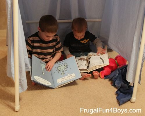 Build a PVC Pipe Play Tent or Fort - be great to put bean bag or & Build a PVC Pipe Play Tent/Fort | Pvc pipe Tents and Forts