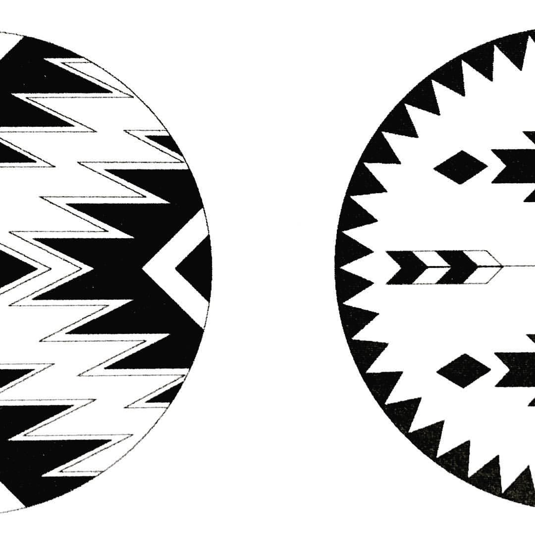 The mohawk the navajo eco u fair roundie beach towels made in