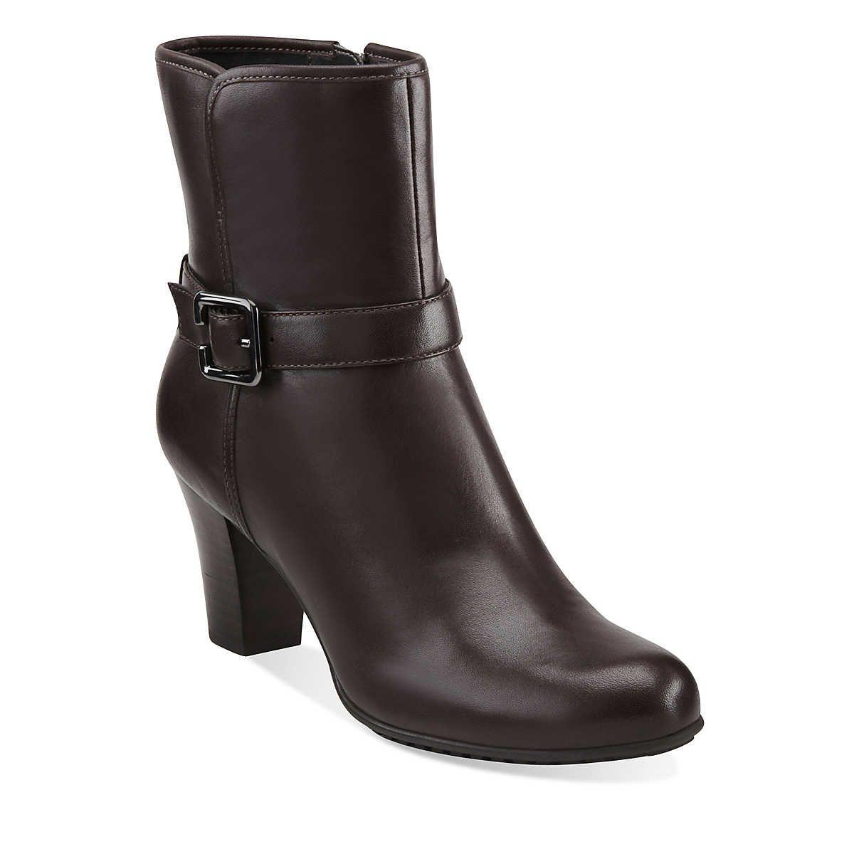 Clarks Shoes Official Site Comfortable Shoes Boots More Clark ShoesWomen s BootsShoe BootsDark Brown LeatherCowboy