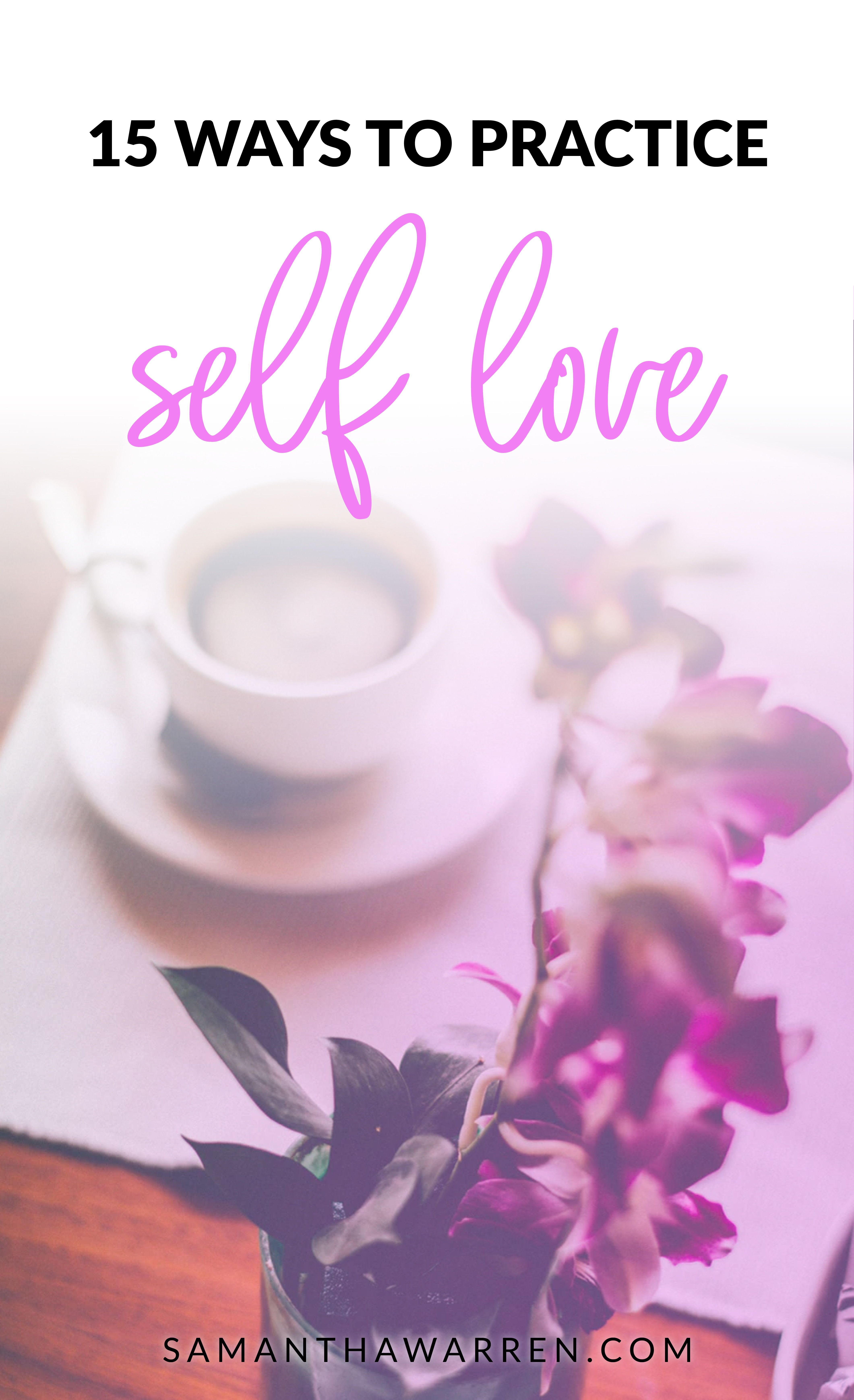 Learn To Love Yourself So You Can Feel More Confident