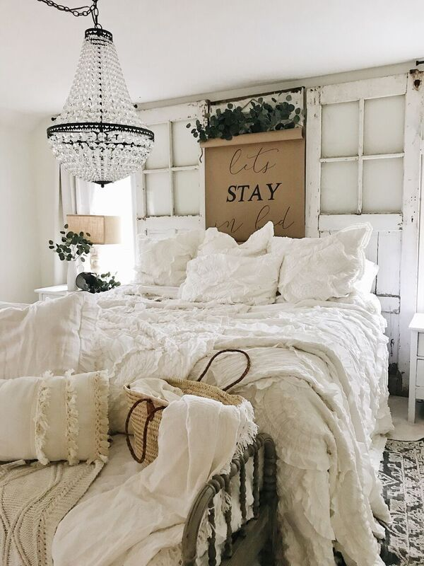 inspiring country chic bedroom decorating ideas | Magnolia Home Rugs – Master Bedroom Update | Best of Liz ...
