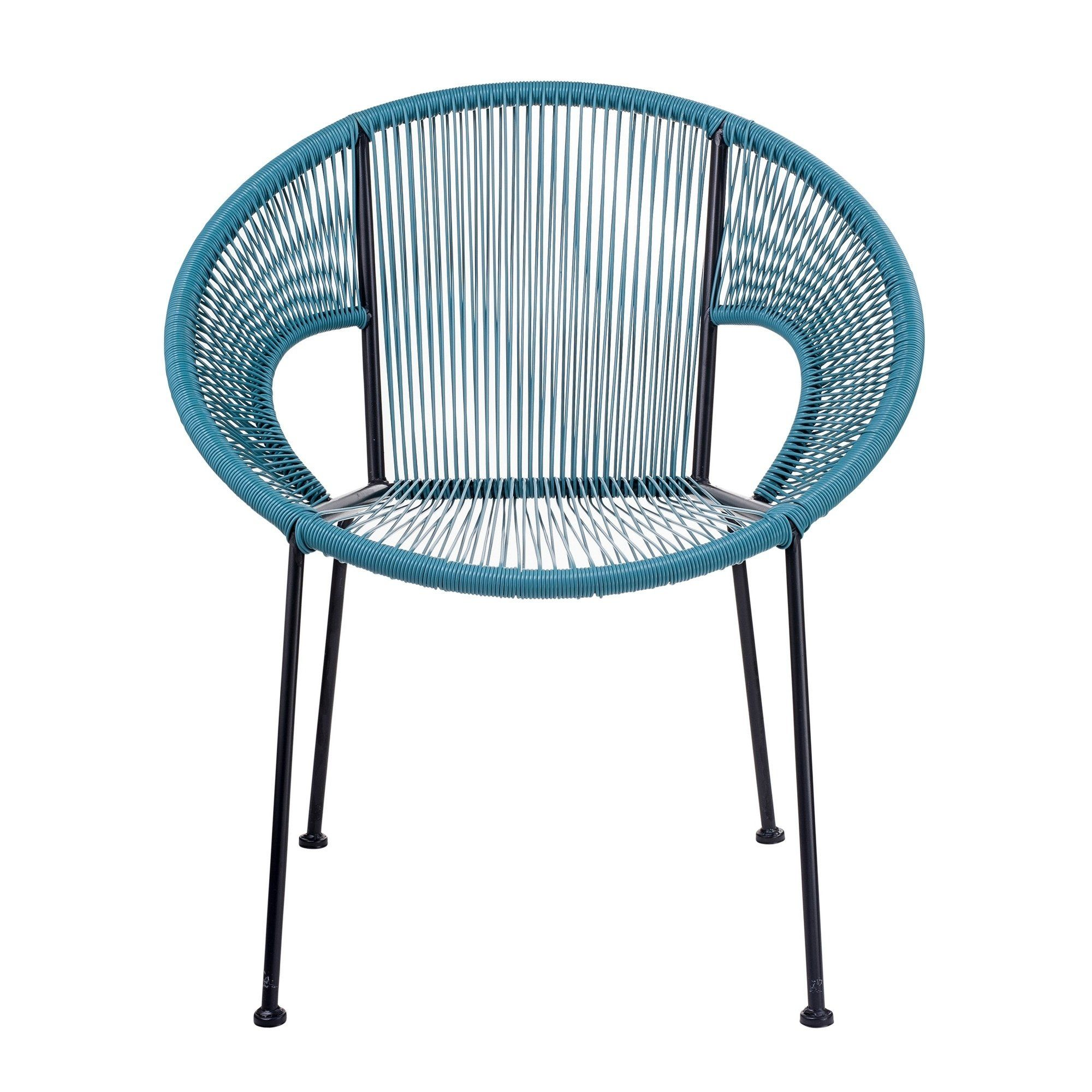 Awe Inspiring American Atelier Blue Wicker Chair Plastic Products In Caraccident5 Cool Chair Designs And Ideas Caraccident5Info