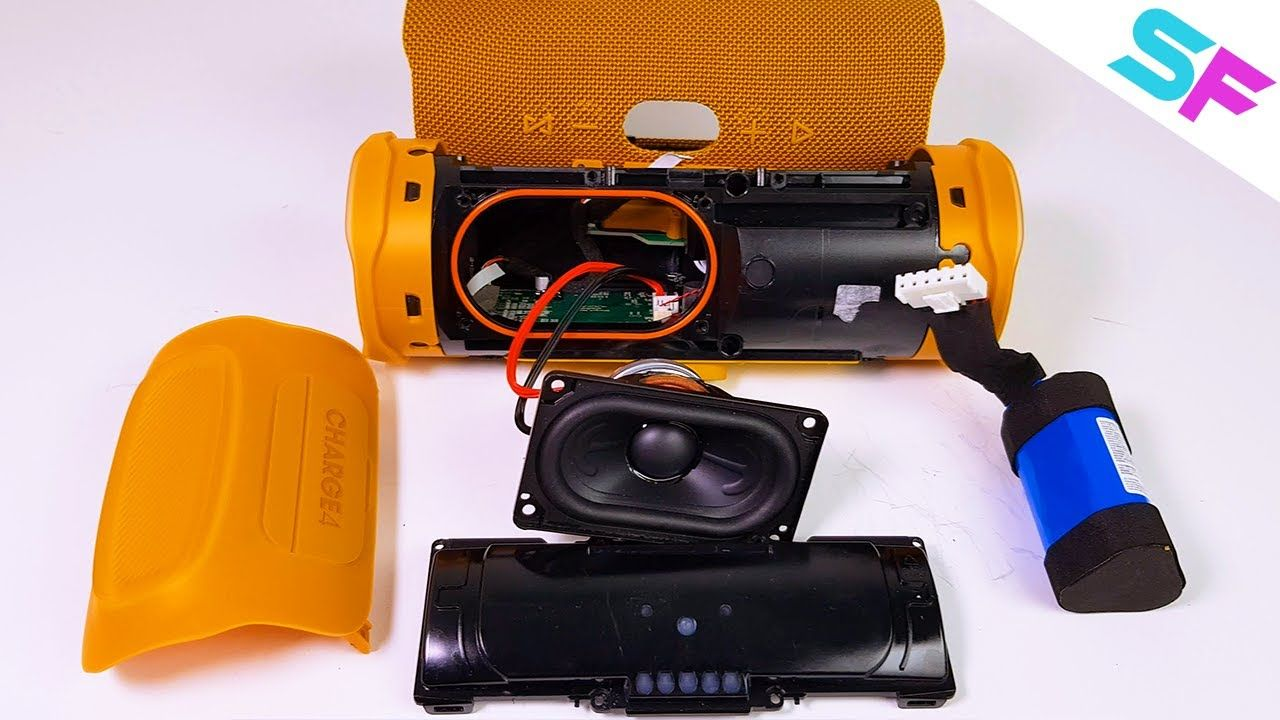Jbl Charge 4 Disassembly How To Teardown In 2020 Jbl Charge Disassembly Jbl