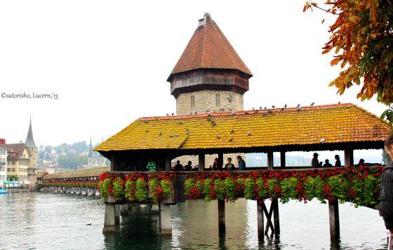 Kapelbrucke Bridge, Lucern, Switzerland #Places #city #travels #tripoto #travel