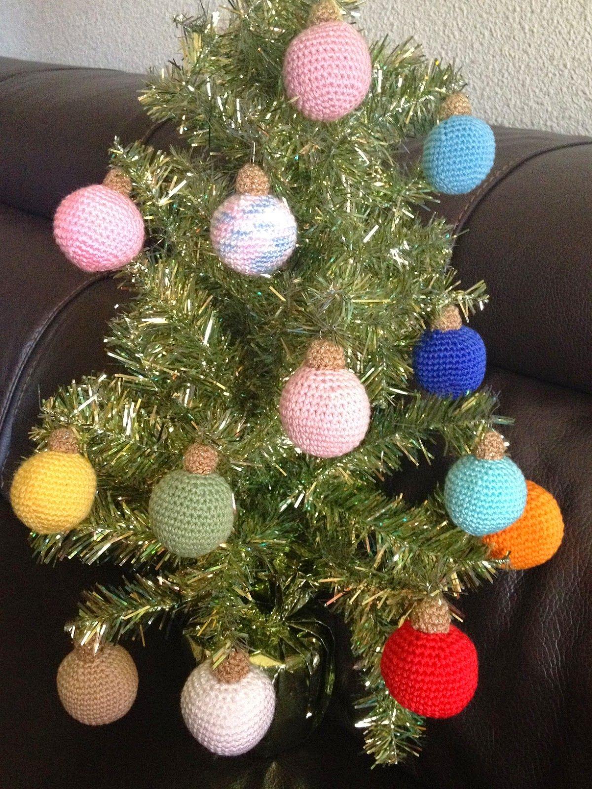 C mo hacer bolas de navidad de crochet crochet ball - Hacer bolas de navidad ...