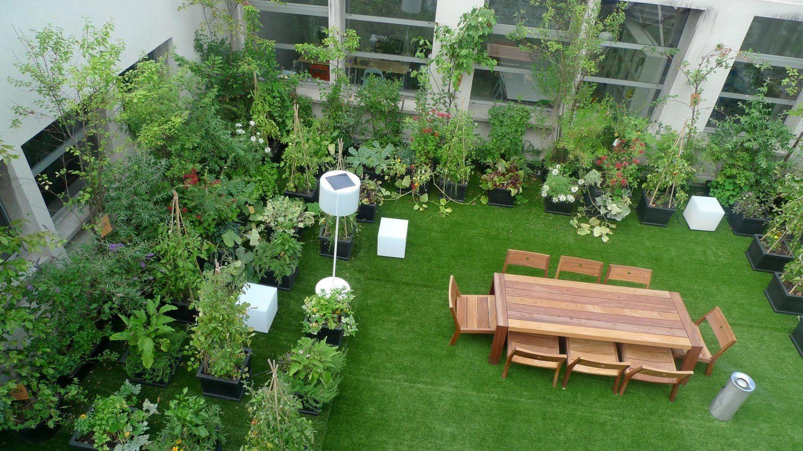 Rooftop Garden Easy To Install Rooftop Gardens Terrace Gardens India By High Easy Garden Gard In 2020 Roof Garden Design Backyard Garden Design Rooftop Garden