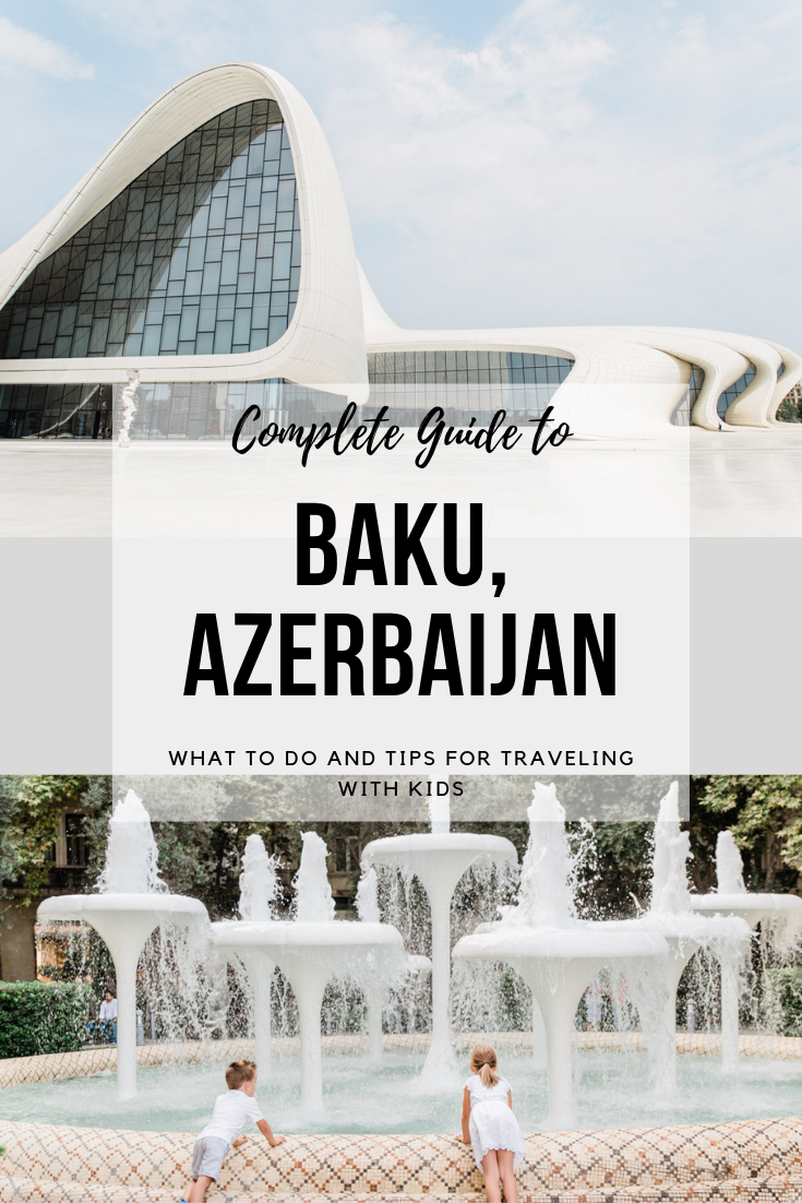 Best Places to Visit in Baku #middleeastdestinations The best places to visit in Baku, Azerbaijan! Baku is a great family destination easily reached from the Middle East and Eastern Europe! Discover everything you need to know about visiting this under the radar tourist destination! #baku #azerbaijan #familytravel #middleeastdestinations