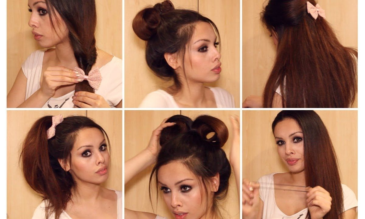 Running late quick u easy hairstyles for school heatless