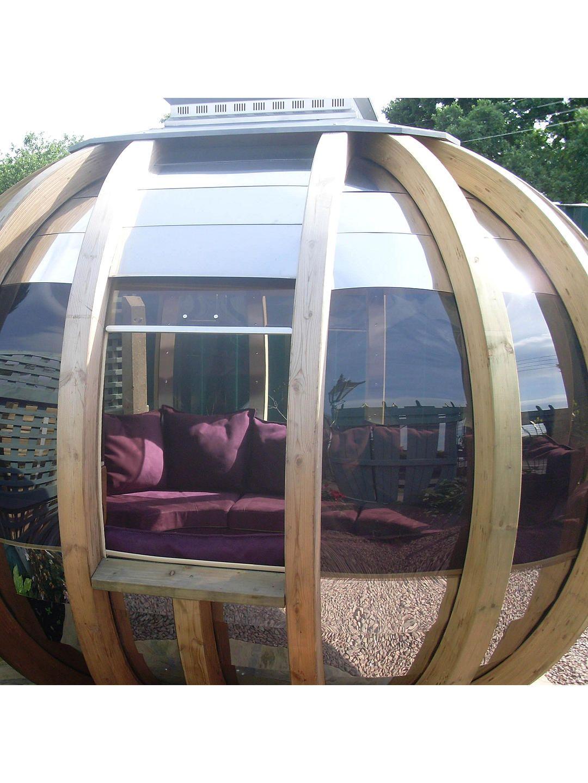 c4368e1fa137 BuyFarmer's Cottage Deluxe Rotating Summer House Garden Pod Online at  johnlewis.com