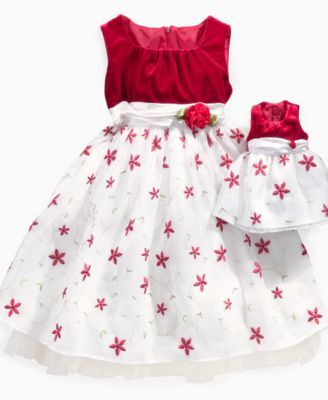 Dollie Amp Me Girls Dress Girls And Little Girls Holiday