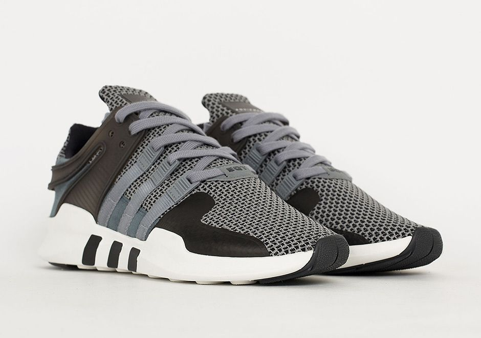 """Modernized, streamlined, stylish, and now very grey. The adidas EQT Support  ADV gets toned down for fall with this new """"Cool Grey"""" colorway sporting a  base ..."""