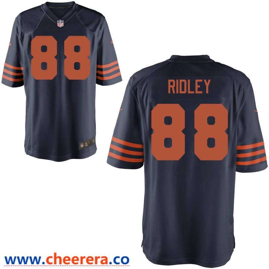 Men's Chicago Bears #12 Allen Robinson II Orange 2017 Vapor  for cheap