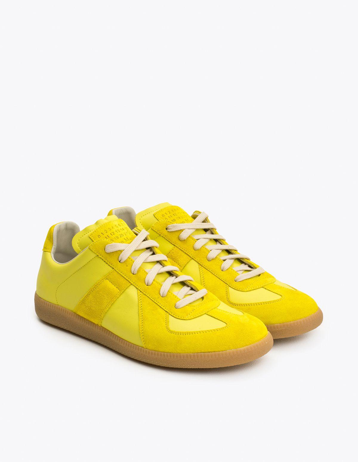 33eb3de9 Maison Margiela - Replica Sneakers Yellow   TRÈS BIEN   Clothing ...