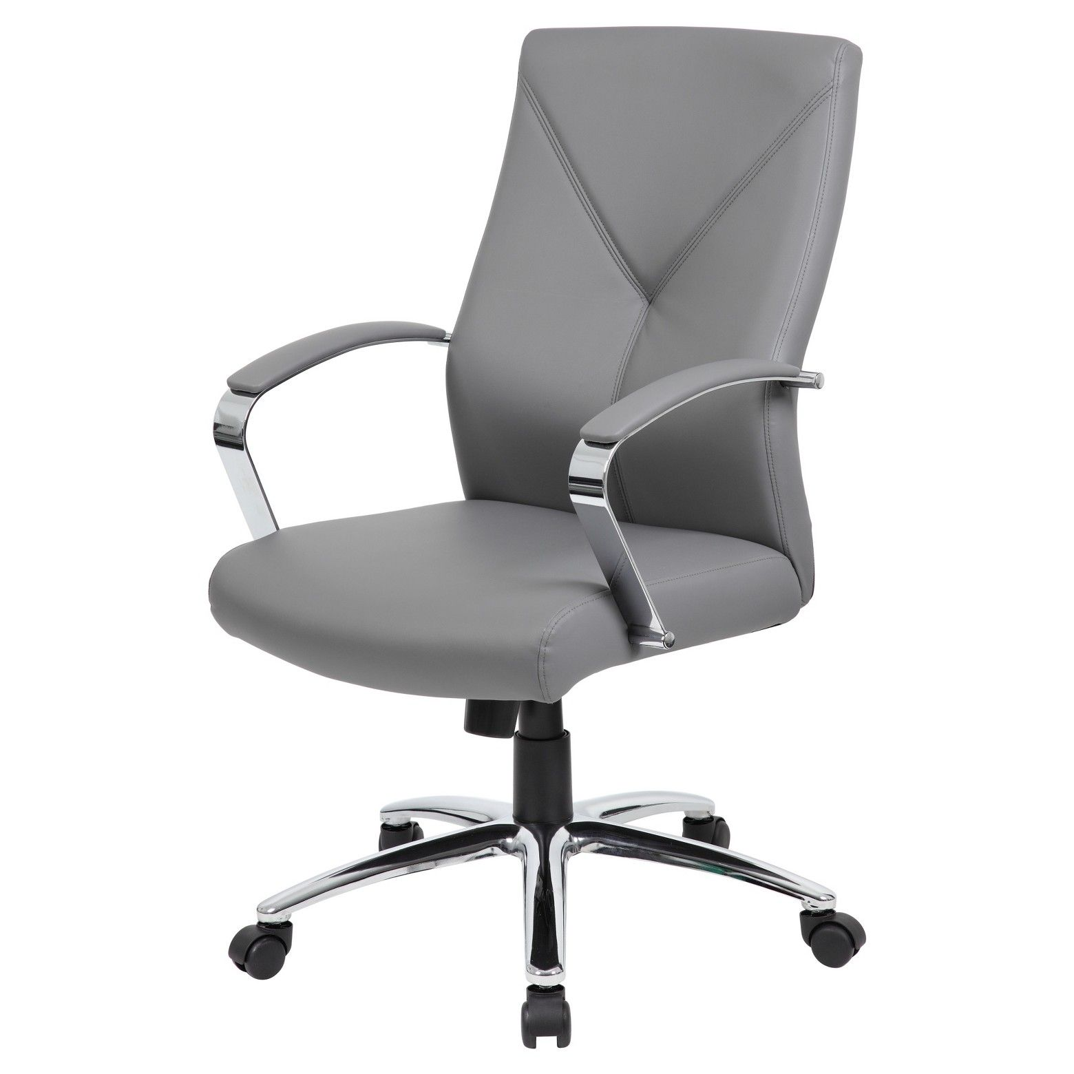 Contemporary Executive Office Chair Gray Boss Executive Office Chairs Home Office Chairs Modern Office Chair