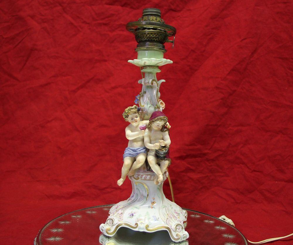 Wonderful antique 19th century meissen porcelain lamp of seasonal wonderful antique 19th century meissen porcelain lamp of seasonal cherubs 218400 ebay arubaitofo Gallery