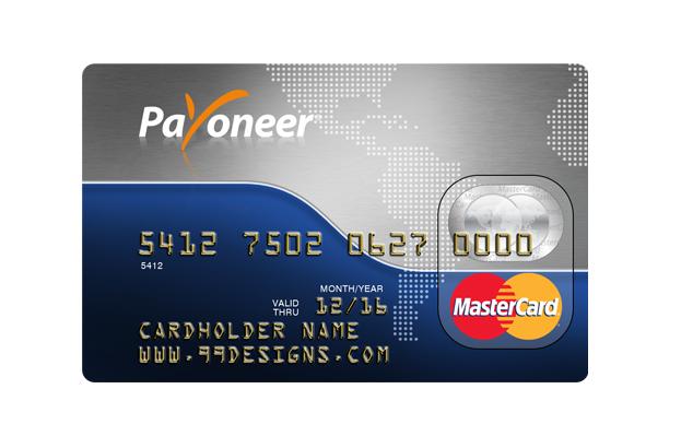Payoneer prepaid mastercard Cards, Coding