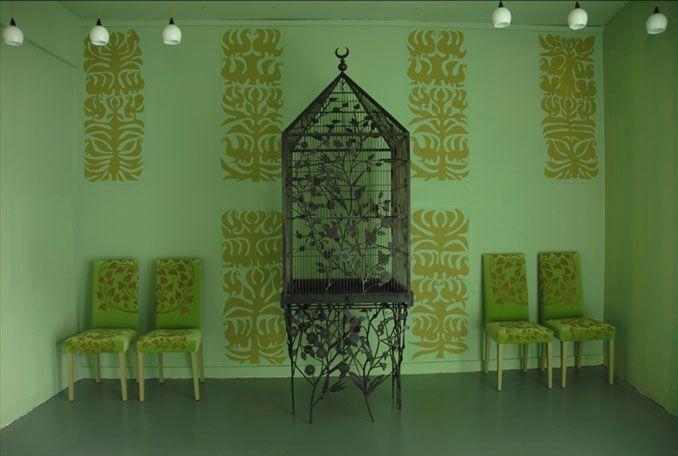 emery cie fr quoi papiers peints au metre motifs oiseaux indiens exemples. Black Bedroom Furniture Sets. Home Design Ideas