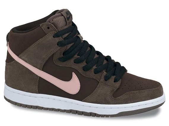 new product f8700 4a678 Nike SB Dunk High Smoke Ion Pink Baroque Brown
